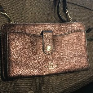 Coach wallet on a string